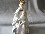 Click here to enlarge image and see more about item 3433: Lefton Madonna Figurine