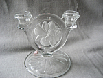 Click here to enlarge image and see more about item 3489: Indiana Glass Candle Holder