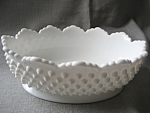 Click here to enlarge image and see more about item 3515: Fenton Hob Nail Bowl