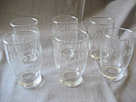 Click here to enlarge image and see more about item 3574: Holly Water Glasses