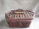 Click to view larger image of Small Sewing Basket (Image1)