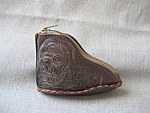 Leather Boot Coin Purse