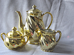 Golden Swirl Price Tea Set