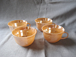 Four Fire King Cups