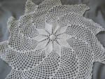 Large Hand Made Star Doily