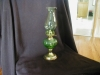 Click to view larger image of Hand Blown Green Miniture Oil Lamp (Image2)