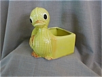 Click here to enlarge image and see more about item 673: Lefton Duck Planter