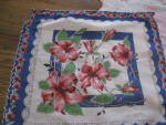 Click to view larger image of 3 Flowered Handkerchiefs (Image2)