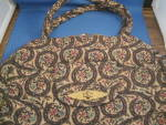 Click here to enlarge image and see more about item 7738AC: Victoria Carpetbag Purse