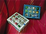 2 Boxes of Glass Balls