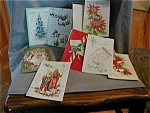Box of Vintage Christmas Cards
