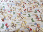 Click here to enlarge image and see more about item 9297: Cowboy and Cowgirl Baby Blanket