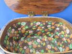 Click to view larger image of Desert Scene Hand Painted Sewing Basket (Image3)