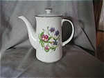 Enesco Floral Flair Coffee Pot