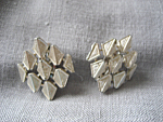 Coro Silver Earrings