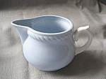 Click to view larger image of Homer Laughlin-Kraft Blue Creamer (Image1)