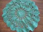 Click to view larger image of Green Doily (Image2)