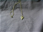 Trifari Gold Leaf Necklace