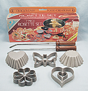 Rosette Set, 7 Piece - Ursula, Original Box
