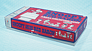 Snoopy And The Red Baron Game, Milton Bradley, 1970