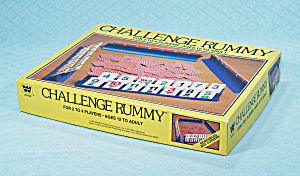 Challenge Rummy Game, Whitman, 1981