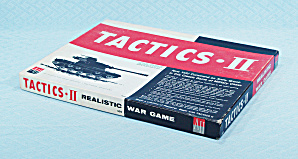 Tactics Ii Game, Avalon Hill, 1961
