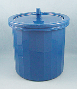 Tupperware 1683 - 3, Ice Bucket, Blue