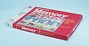 Step-by-step Memory Game, Milton Bradley, 1983