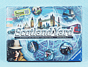 Scotland Yard Game, Ravensburger, 2013, Nib