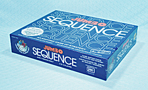 Jumbo Sequence Game, Jax, 1996, Nib