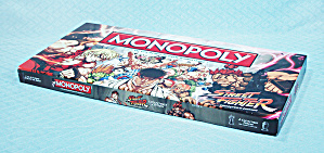Monopoly, Street Fighter Collector's Edition, 2012, Nib