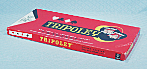 Tripoley, Crown Edition Game, Cadaco, 1965