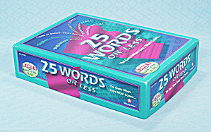 25 Words or Less Game, Winning Moves, 1997	 (Image1)