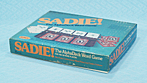 Sadie The Alphadeck Word Game, Harper & Row, 1976
