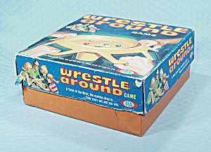 Wrestle Around Game, Ideal, 1969