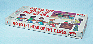 Go To The Head Of The Class Game, 22nd Edition, Milton Bradley, 1977