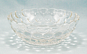 Bubble Clear, By Anchor Hocking, Small 4-inch Bowl