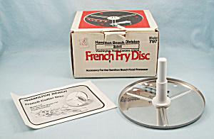 Hamilton Beach French Cutter Disc Model 797 (Image1)
