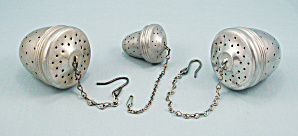 Three Tea Balls/ Infusers – Acorn Shaped (Image1)