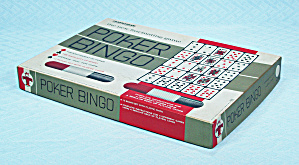 Poker Bingo Game, Transogram, 1966