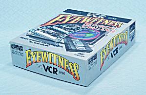 Eyewitness Newsreel Challenge Vcr Game, Parker Brothers, 1985