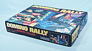 Domino Rally Deluxe Set With Domino Dealer, Pressman, 1997