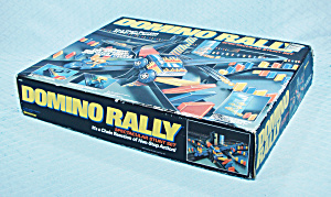 Domino Rally Spectacular Stunt Set, Pressman, 1982
