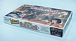 Clue, The Great Museum Caper Game, Parker Brothers, 1991