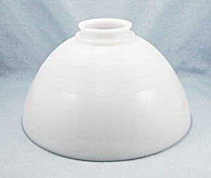 10 Inch Opal Glass Torchiere - Diffuser Shade – 3- Inch Fitter (Image1)