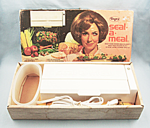 1968 Dazey Seal-a-meal, Unused, Boxed, Instructions
