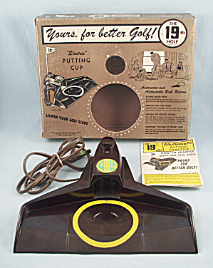 The 19th Hole Electric Putting Cup, Model 1902, 1961