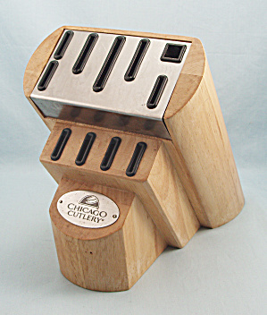 Chicago Cutlery - Wood Knife Block - 11 Slots