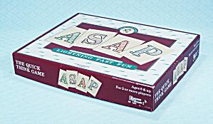 ASAP Game, University Games, 1989 (Image1)
