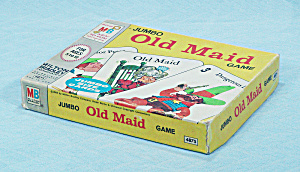 Jumbo Old Maid Game, Milton Bradley, 1968 (Image1)